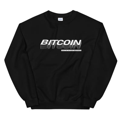 """The Quantum"" Bitcoin Womens Sweatshirt"