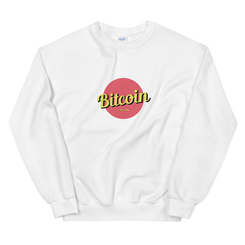 """The Retro"" Bitcoin Womens Sweatshirt"
