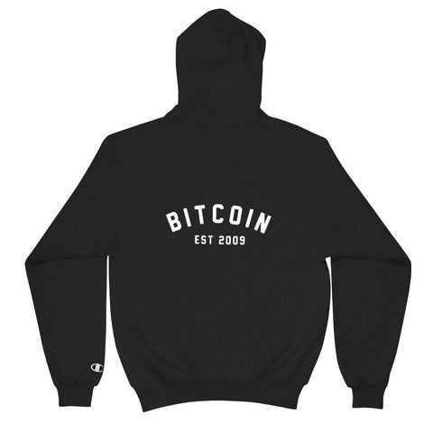 """Bitcoin Campus"" Champion Mens Hoodie"
