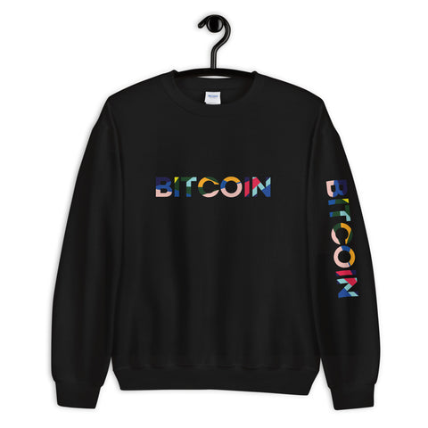 """The Avant Garde"" Bitcoin Mens Sweatshirt"