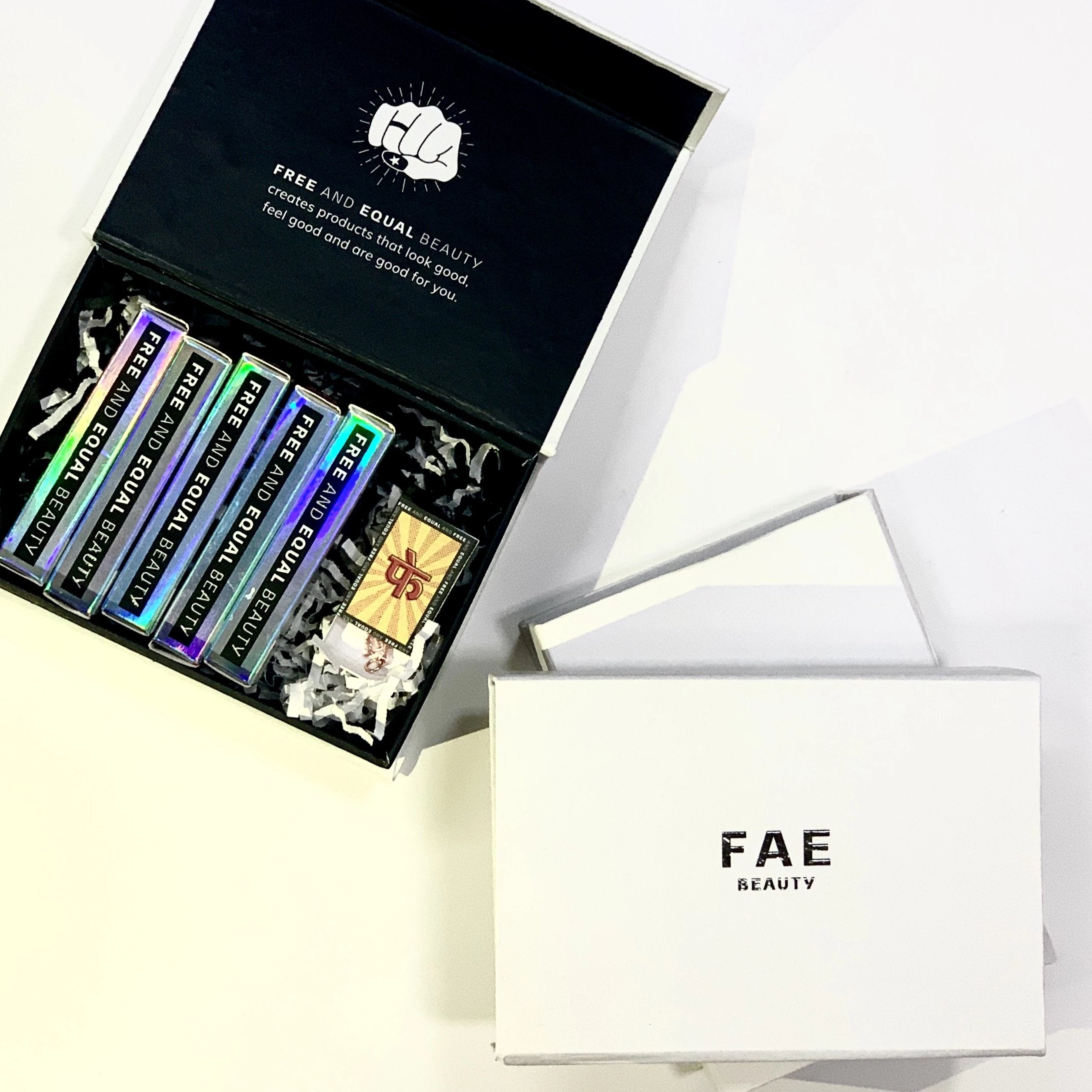 FAE Bundle: Set of 5 Buildable Matte Lipsticks - FAE BEAUTY
