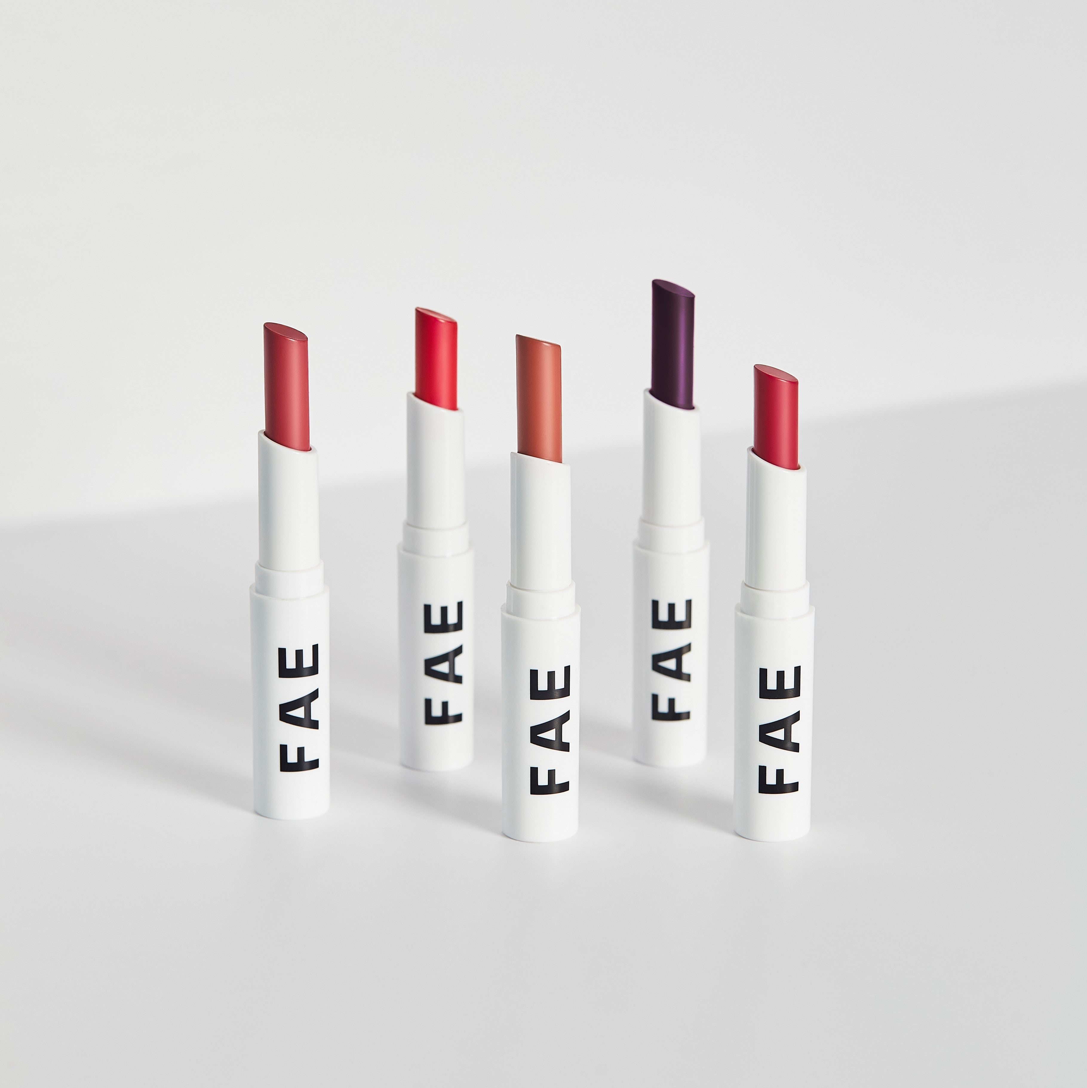Buildable Matte Lipstick Too Much (Classic Red) - FAE BEAUTY
