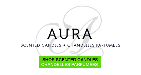 Scented Candles by Aura