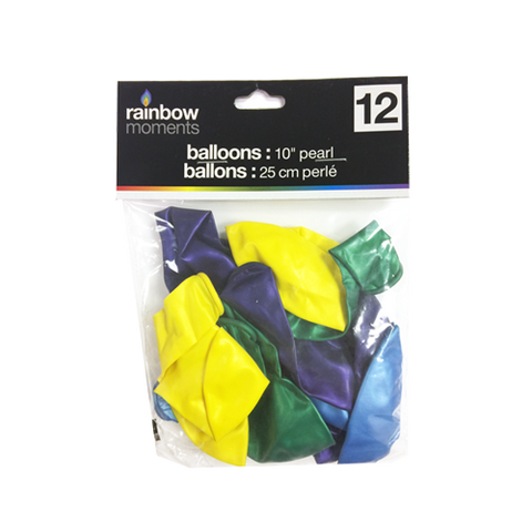 Balloons – Pearl Finish (12-pack)
