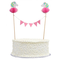 Cake Bunting – Unicorn Theme
