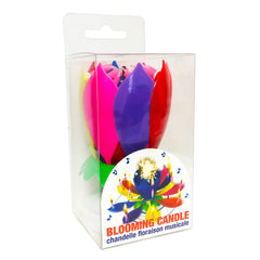 Display with Header – Musical Blooming Birthday Candle