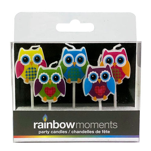Owls Paraffin Shape Candles