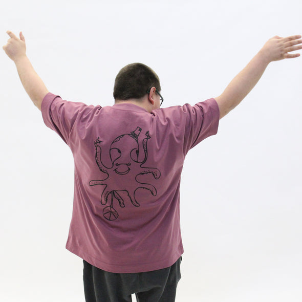 Party Octopus Oversized T-Shirt