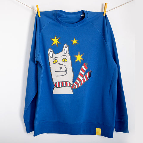 Christmas Wolf Jumper