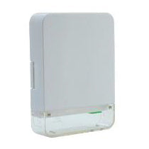 FTTH wall box – Clear base