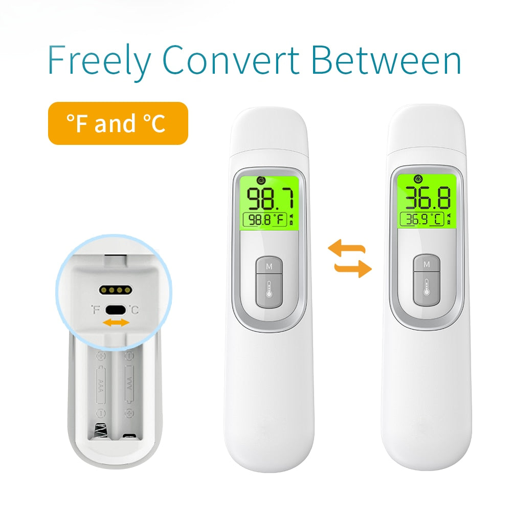 Digital Non-Contact Thermometer Forehead and Ear