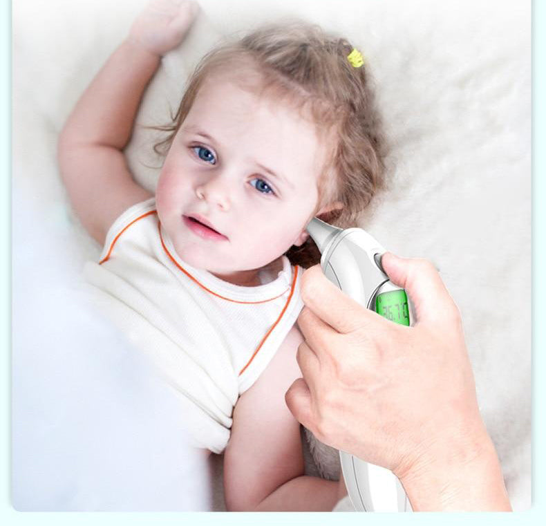 No-Touch Forehead and Ear Thermometer