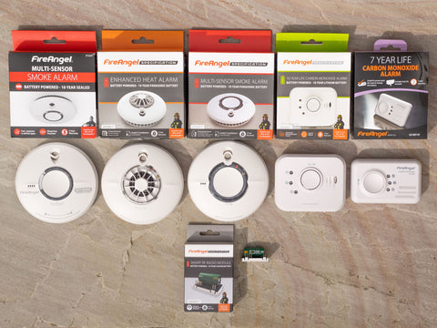 Smoke, Heat & Carbon Monoxide Alarms