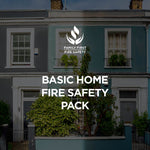 Essential 2-Storey Home Pack | 2 x Fire Blankets & 1kg Fire Extinguishers