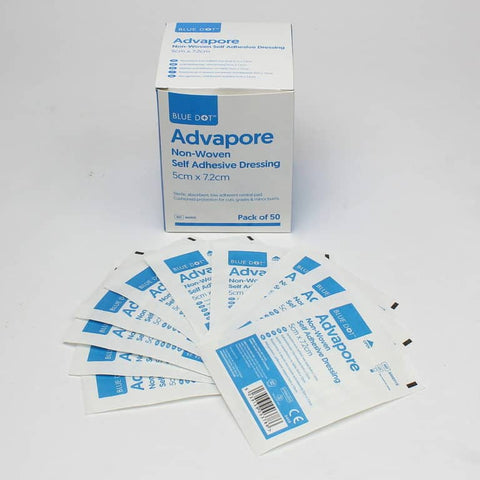 Blue Dot Advapore Non-Woven Self Adhesive Dressings