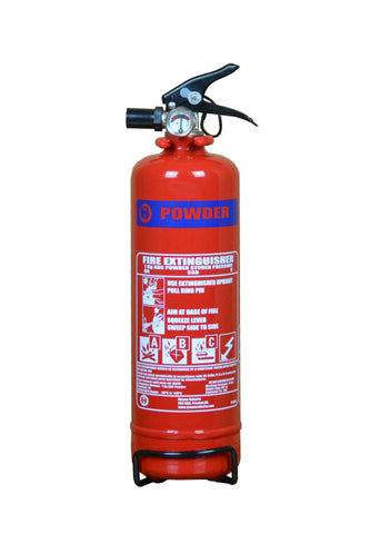 1kg ABC Dry Powder Fire Extinguisher | Moyne Roberts | 3 Year Warranty