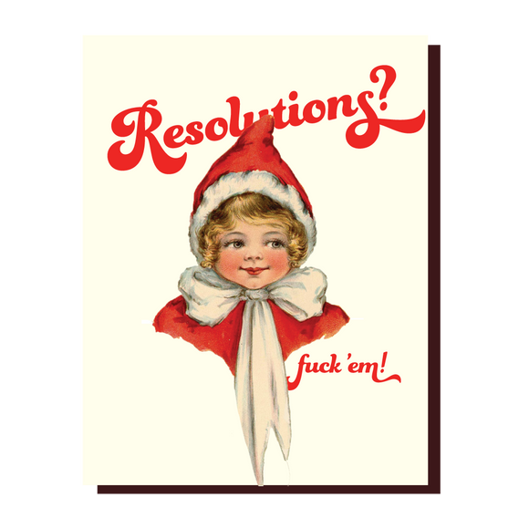 Resolutions? Card