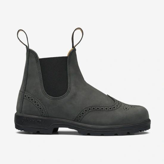 1472 Black Brogue Blundstone