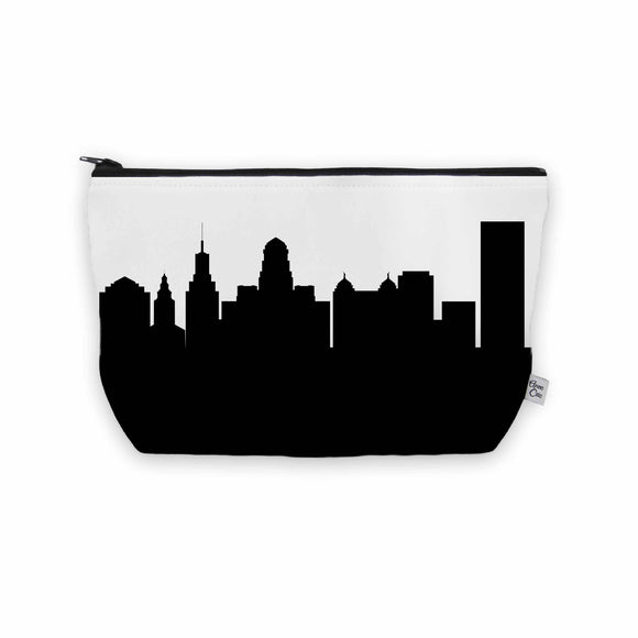 Buffalo NY Skyline Cosmetic Makeup Bag
