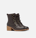 Cate Lace Boot Blackened Brown