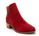Pronto Red Bootie