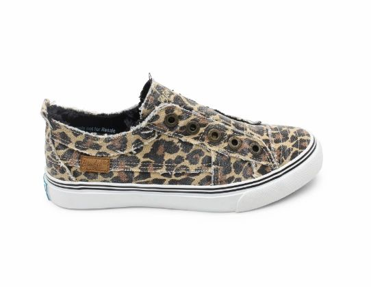 Blowfish Play Leopard Sneaker FINAL SALE