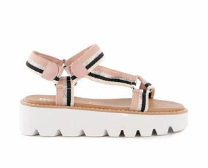 Eye on the Prize Pink Sandal FINAL SALE