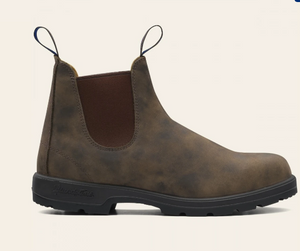 584 Rustic Brown Waterproof Blundstone