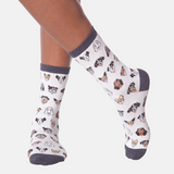 Dog Faces Sock