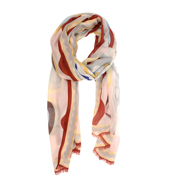 Modern Graphic Scarf