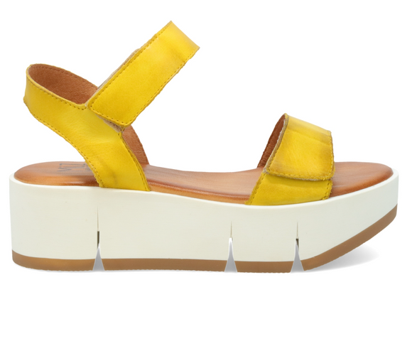 Pia Yellow Platform Sandal FINAL SALE