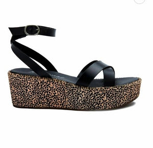 Sure Thing Platform Sandal FINAL SALE