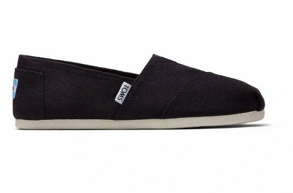 Toms Classic Black Womens