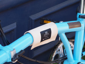 Leather frame cover for BROMPTON