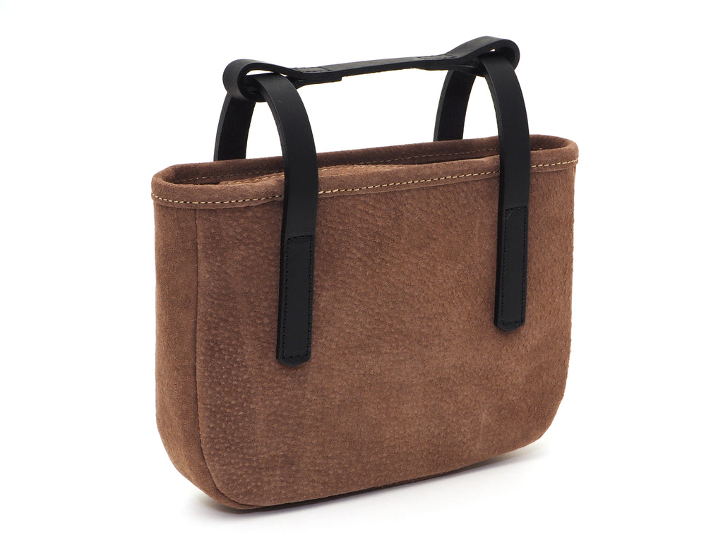 Leather frame bag