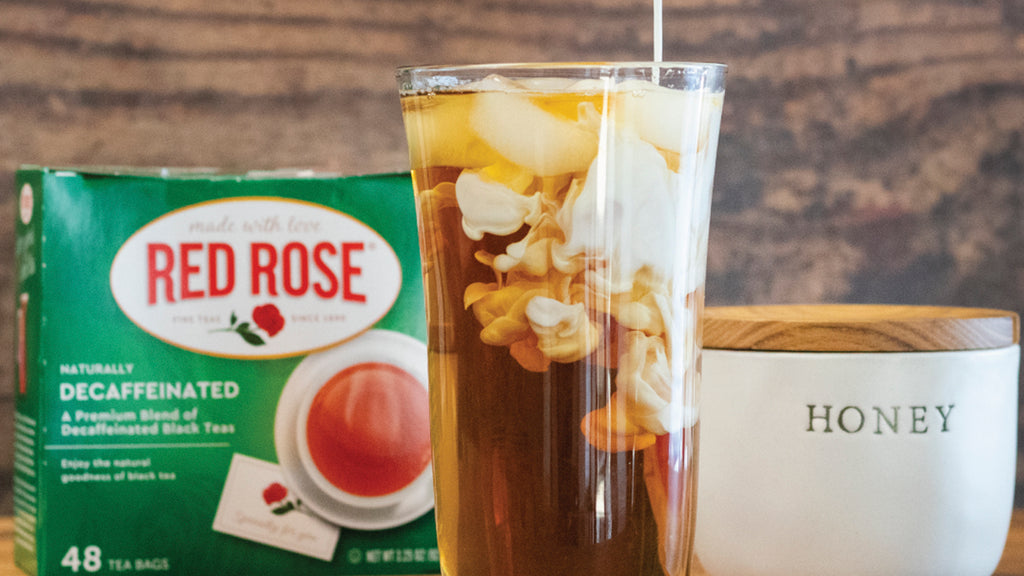 The Perfect Iced Tea Latte