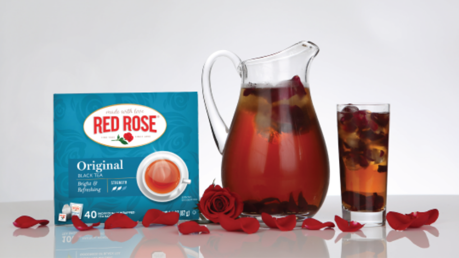 Rose Petal Iced Tea Infusion