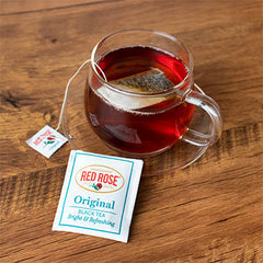 Can you leave tea bags in tea?
