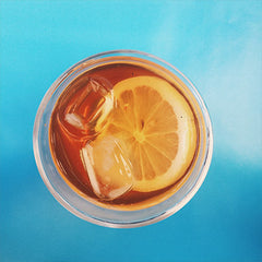 How do I keep my iced tea from getting cloudy?