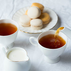 What snacks go well with tea?