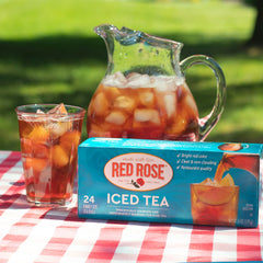 Why do you add baking soda to iced tea?