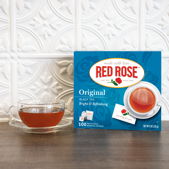Red Rose Original Black Tea 100ct – 6 pack - Envelope