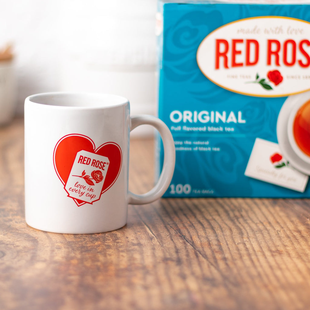 Red Rose Tea Mug