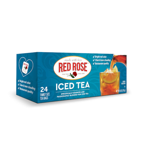 Red Rose Iced Tea - 24ct