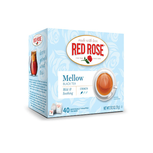 Red Rose Mellow Black Tea 40ct