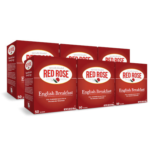 Red Rose English Breakfast Tea - 50ct