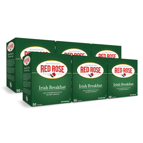 Red Rose Irish Breakfast Tea 50ct