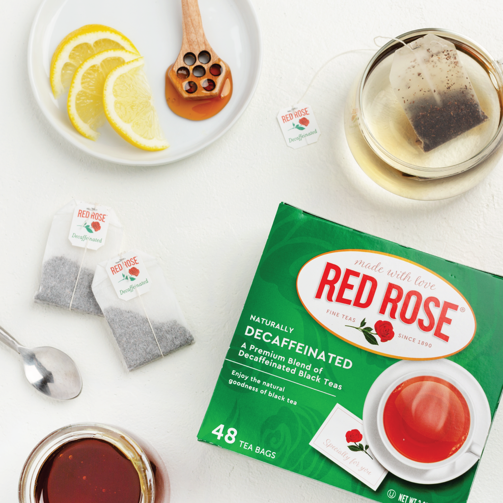 Case Pack of Red Rose Decaffeinated Black Tea 576ct