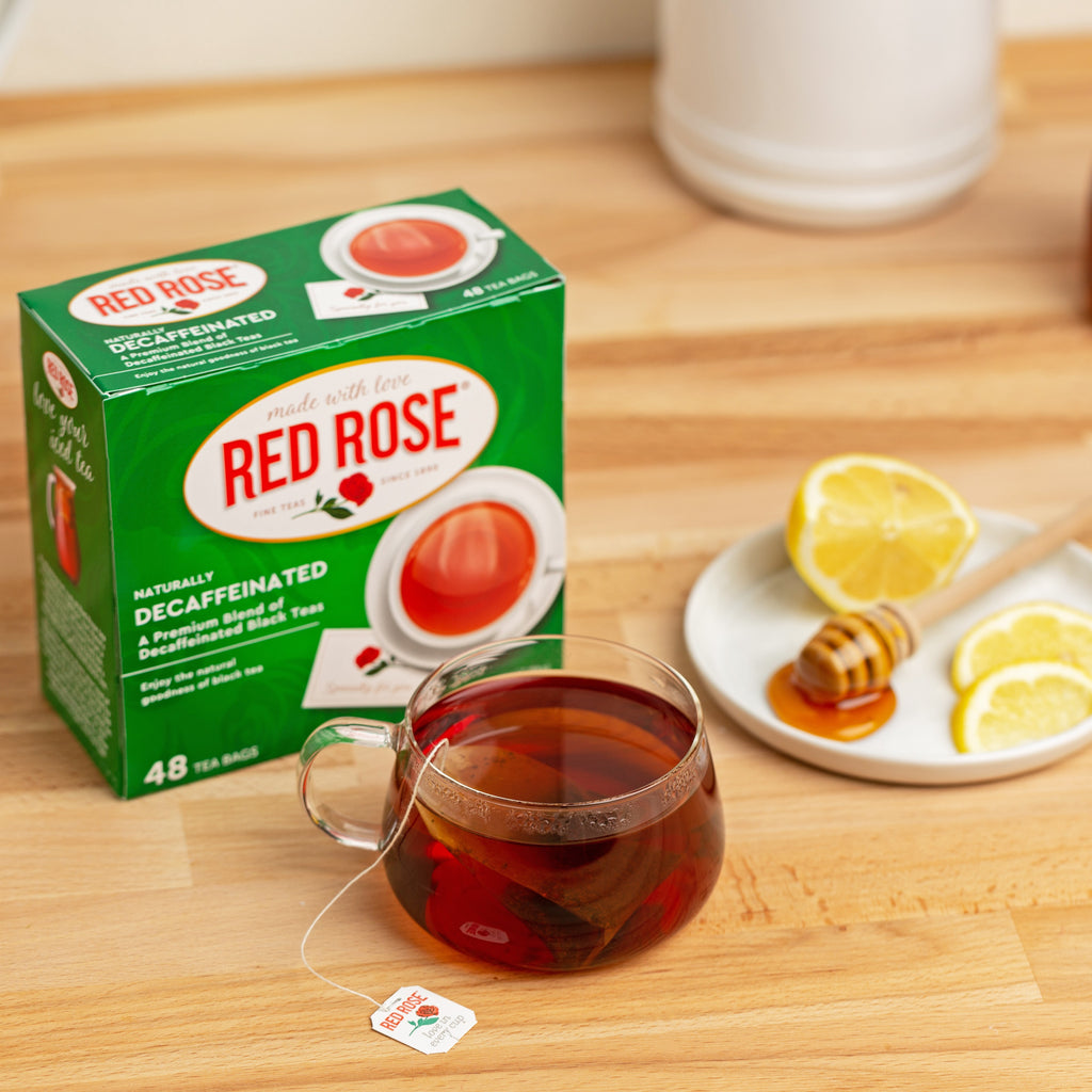 Red Rose Decaffeinated Black Tea 48ct