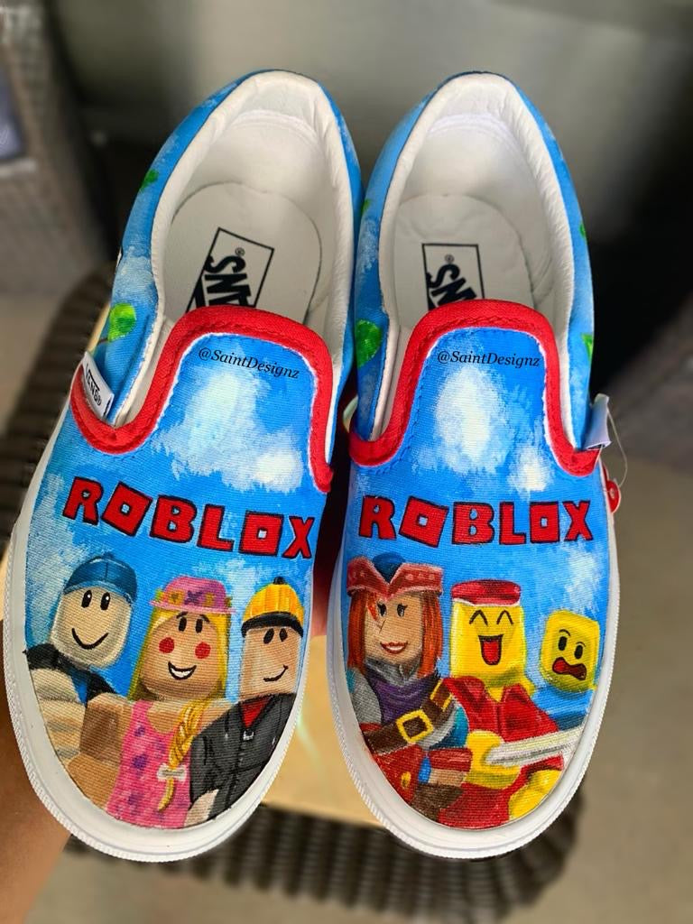 Roblox Shoes (for toddlers and kids) - Saint Designz